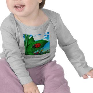 Señora Bug del dibujo animado Camiseta