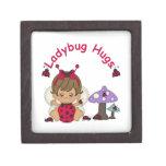 Señora Bug Hugs 2 Caja De Regalo De Calidad