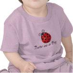 Señora Bug - lindo como insecto Camisetas
