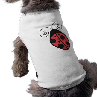 Señora Bug Camisas De Mascota