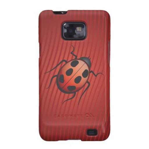 Señora Bug Samsung Galaxy S2 Funda