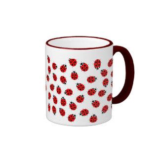 Señora Bugs Mug Taza De Dos Colores