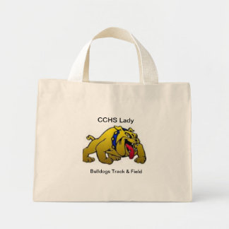 Señora Bulldogs Bag de CCHS Bolsa Tela Pequeña