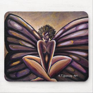 Señora Butterfly III Mousepad Alfombrilla De Ratones