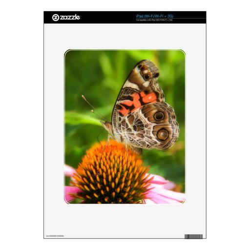 Señora Butterfly iPad Skins