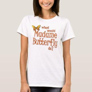 Señora Butterfly Playera