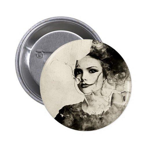 Señora Button Pins