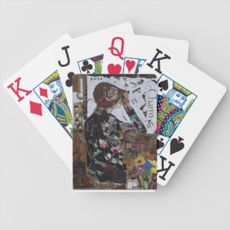 Señora Cards del puente Barajas De Cartas