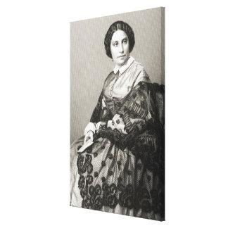 Señora Caroline Marie Felix Miolan-Carvalho Impresiones En Lona Estiradas