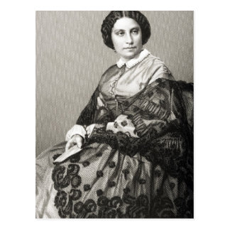 Señora Caroline Marie Felix Miolan-Carvalho Postal