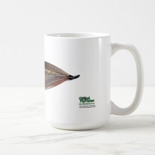Señora Caroline Salmon Fly Mug Tazas De Café