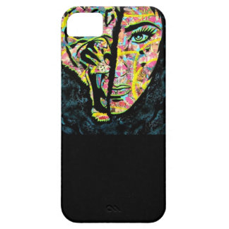 Señora Case del tigre de Iphone 5 iPhone 5 Carcasas