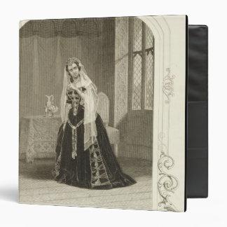 """Señora Celeste como la princesa Katherine, Sc del Carpeta 1 1/2"""""""