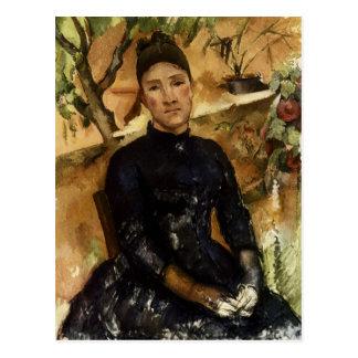 Señora Cezanne en el invernadero Postales