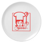 Señora Chef Platos De Comidas