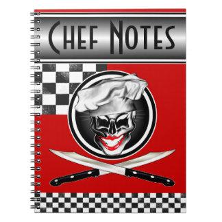Señora Chef Skull Notebook