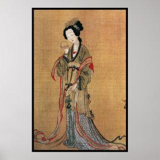 Señora china i poster