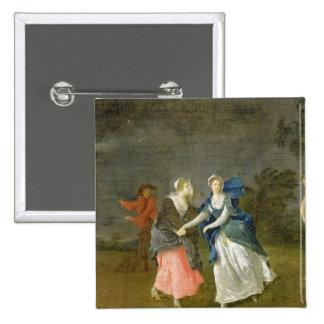 Señora Cibber como Cordelia, c.1755 (aceite en lon Pin Cuadrada 5 Cm
