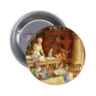 ¡Señora Claus Bakes Cookies con los duendes de San Pins