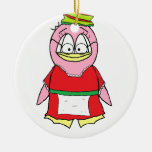 Señora Claus Penguin Ornamente De Reyes