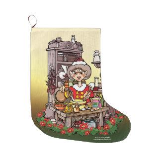 Señora Clause Christmas Stocking