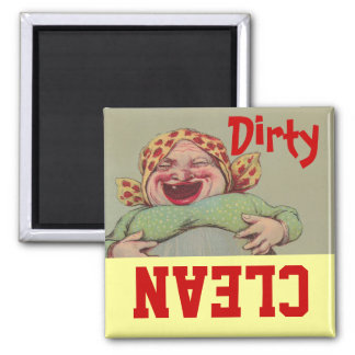 Señora Clean Dirty Dishwasher del vintage LOL de l Iman