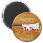 Señora Cleaver Imanes De Nevera