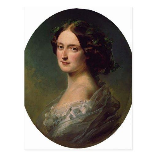 Señora Clementina Augusta de Francisco Winterhalte Postal
