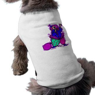 Señora Clown en tutú Camisa De Perrito