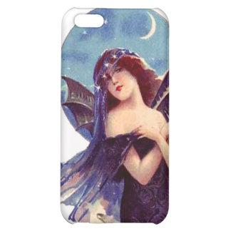Señora coa alas palo de hadas Lovely Art Nouveau H