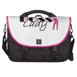 Señora Commuter Bag rosa de Boss