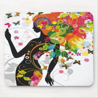 Señora con clase MousePad Tapetes De Ratón