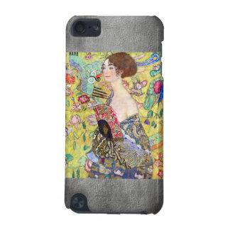 Señora con la fan de Gustavo Klimt