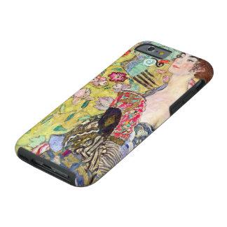Señora con la fan de Gustavo Klimt, Japonism del Funda Resistente iPhone 6