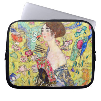 Señora con la fan de Gustavo Klimt, Japonism del Mangas Computadora