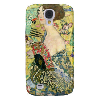 Señora con la fan - Gustavo Klimt