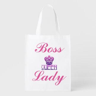 Señora Crown Reusable Bag de la reina Boss Bolsa Reutilizable