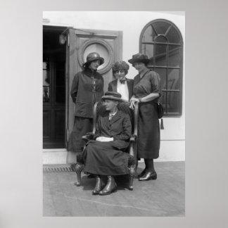 Señora Curie 1900s tempranos Impresiones
