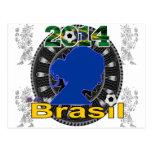 SEÑORA CUSTOMIZABLE PRODUCTS DEL BRASIL WORLDCUP POSTAL