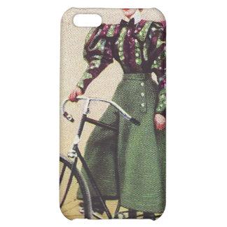 Señora Cyclist Speck Case del vintage