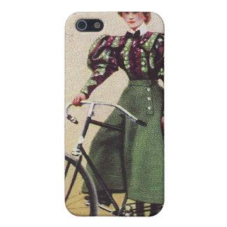 Señora Cyclist Speck Case del vintage iPhone 5 Cobertura