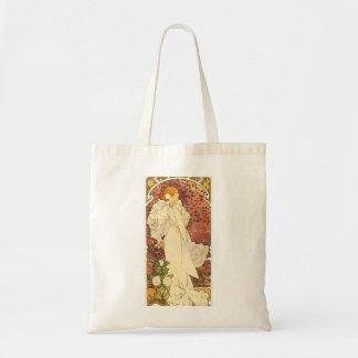 Señora de Alfonso Mucha de la bolsa de asas de Cam