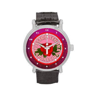 Señora de Aparecida Reloj
