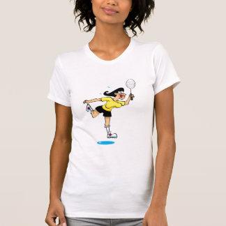Señora de Badmington Camisas