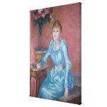 Señora de Bonnieres, 1889 Lona Envuelta Para Galerias