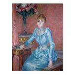 Señora de Bonnieres, 1889 Postales