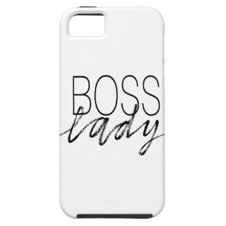 Señora de Boss iPhone 5 Case-Mate Carcasa