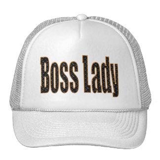 Señora de Boss Gorra