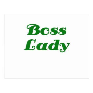 Señora de Boss Postal