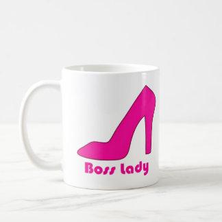 Señora de Boss Taza